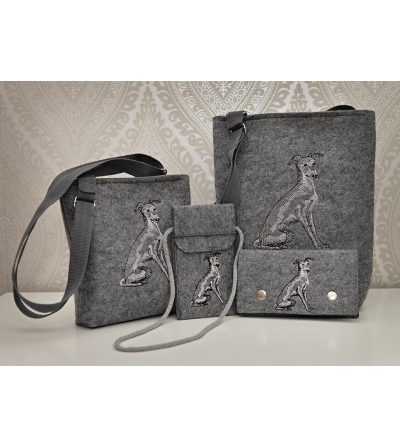 Beautiful Embroidery Eco felt Bag