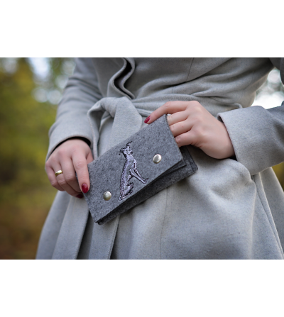 Beautiful Eco Felt Wallet
